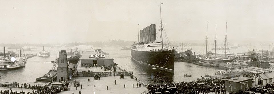 Cunard is the most historic passenger line in the world