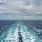 Cunard QM2 Wake